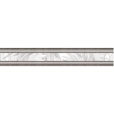 бордюр Бонита белый/серый 80*500 BWU54BNT007