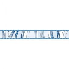 бордюр Борнео  синий/голуб 67*500 BWU53BRN603