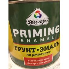Грунт-эмаль по ржавчине Спектр белая 20кг