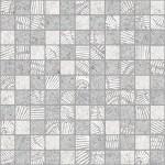 Мозаика JENNYFER  сер/белый 30 * 30 MWU30JNF07R