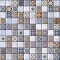 Орнелла  арт-мозаика синий 5032-0200 30х30