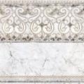 вставка PARETO белый/серый 610*610 DFU04PTO007