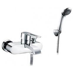Смеситель для ванны Solomon Milardo кор излив M02