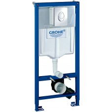 Система инсталяции Grohe Rapid SL 3в1 в сборе с кноп.смыва Skale Air 38721001