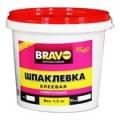 Шпаклевка фасадная супербел бан. 0,8кг Bravo