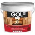 Краска для печей и каминов GOLexpert красно-коричневая 1кг