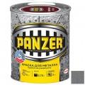 Краска молотковая серебристо-серая 0,75 PANZER