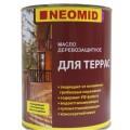 Масло деревозащитное для террас Neomid 2л