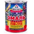Эмаль ПФ-115 ГОСТ Спектр белая глянцевая  0,8кг (14шт)