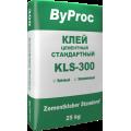 Клей д/плитки стандарт.ByProc KLS-300 25кг