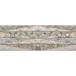 Вставка Лорена серый/голубой 600*200 DWU11LRN706