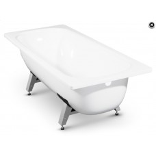 ванна стальная эмал.170*70 НОВОСТРОЙ с ножками