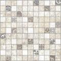 Мозаик Крета белый/синий 300*300 MWU30KRT03R