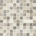 Мозаик Резо  белый/коричневый 300*300 MWU30RZO04R