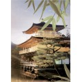 Панно Бамбук пагода из 2 пл 498*364 PWU07BMB4