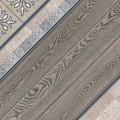 Плитка Тира на сером серая 418*418 пг3ти707