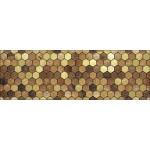 Вставка Ника коричневый/коричневый 600*200  DWU11NIK404
