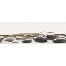 Вставка Айленд камни бел/корич 600*200 вс11ад004