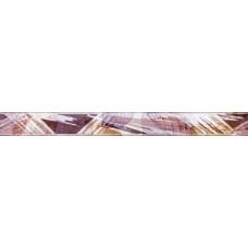 Бордюр Феличче серый/коричневый 600*60 бд60фч704