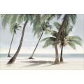 Панно Айленд пальмы гол. из 2 пл 600*400 пн11ад2
