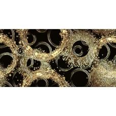 Вставка Голден черн/золот 249*500 DWU09GLD228