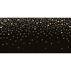 Вставка Голден черн/золот 249*500 DWU09GLD208
