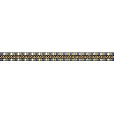Бордюр Клер синий/желтый 400*30 BWU06CLR308