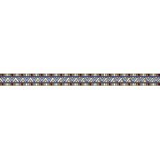 Бордюр Клер синий/желтый 400*30 BWU06CLR328