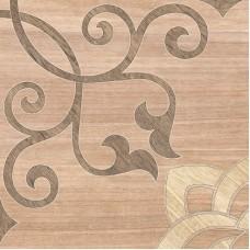 Плитка Альберо на бел корич.418*418 пг3ал004(1,747)