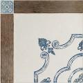 Плитка Майолика корич/голуб 418*418  TFU03MAJ406  1,747